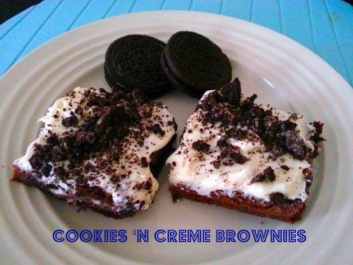 Cookies And Cream Brownies Betty Crocker Cookies 'n creme brownies