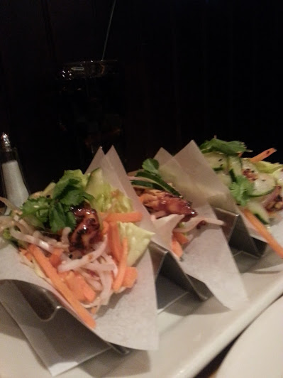 lettuce tacos at cheesecake
