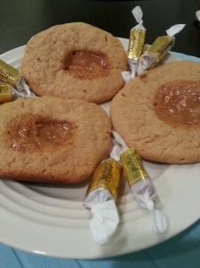 PB  Caramel cookies