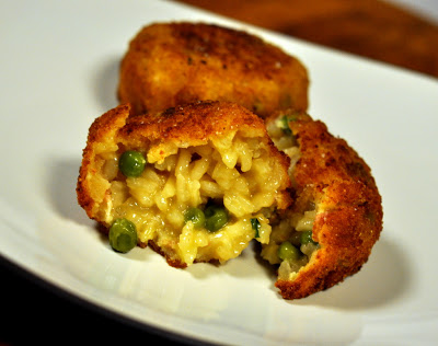 Arancini (Fried Rice Balls) 04 - Photo by Taste As You Go