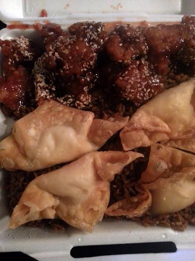asian taste  combo dinner