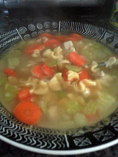 chicken soup from doms
