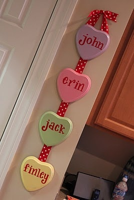 conversation heart family names