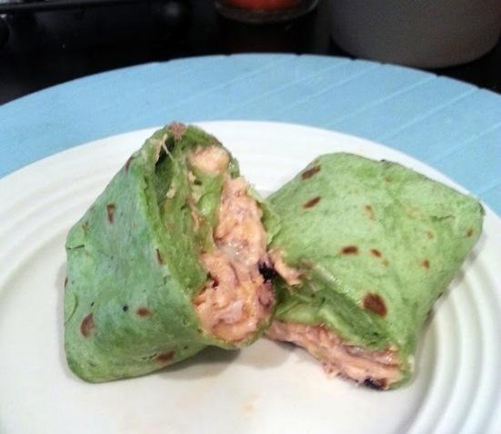 salmon wrap
