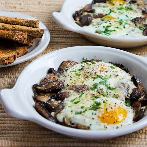 1-baked-eggs-mushrooms-500x500-kalynskitchen