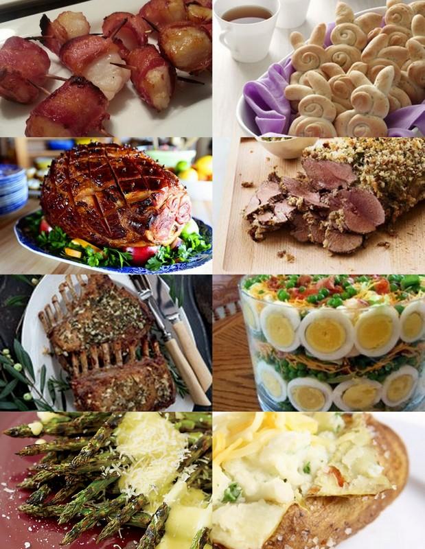 8 easter dinner recipe ideas for Easy easter menu ideas