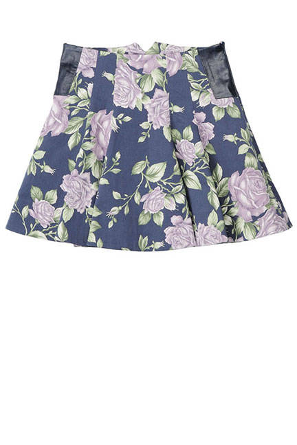 floral rag and bone kate skirt