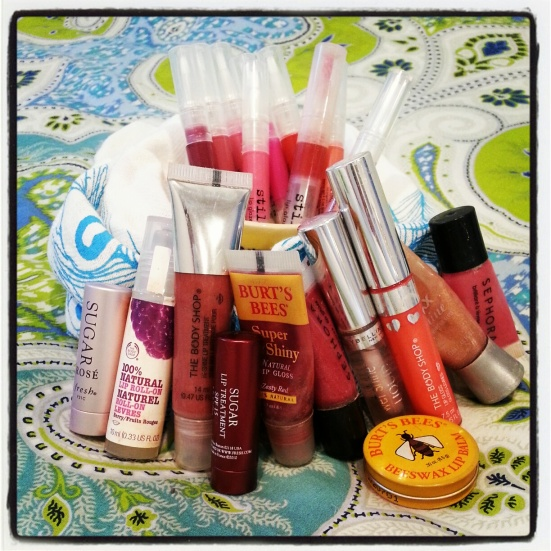 Michelle's Lip color collection