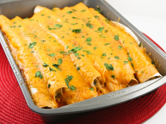 SpicyChickenEnchiladas