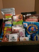 The healthy snack packed Boxtera box + a discount code!