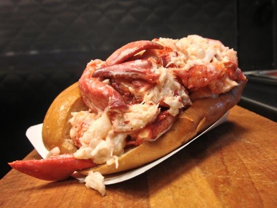 Lobsta Roll at Paulis in Boston