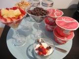 Make Your Own Parfait Bar with Yoplait GreekYogurt
