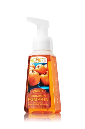 pumpkin hand soap