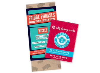 Fridge Phrases and City Dining Cards