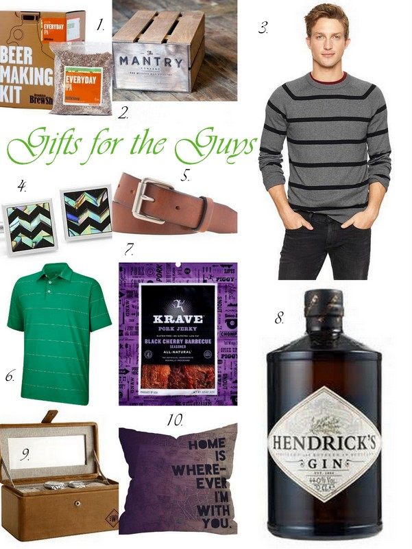 Gift Ideas For Guys - 10 Christmas Gift Ideas For The Guys Eat And Sip In The City