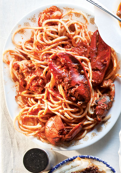 lobster fradiavolo