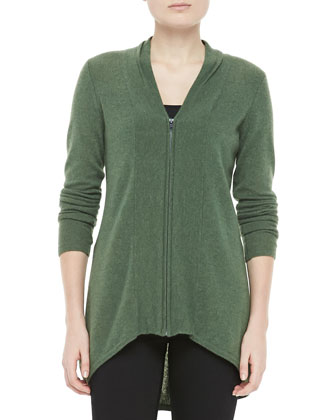 Zippered Cardigan